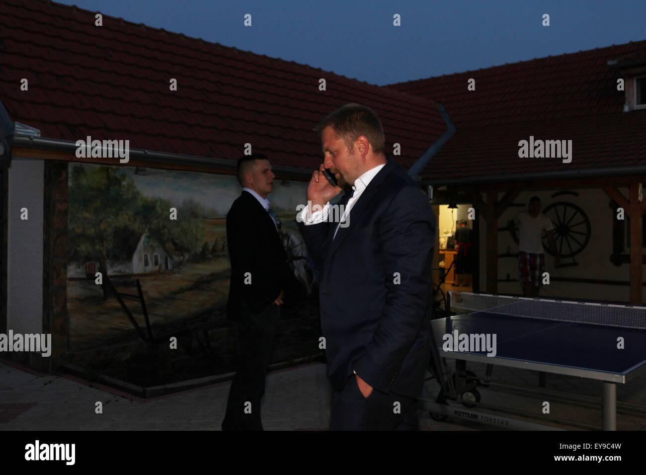 Liberland president Vit Jedlicka - Stock Image