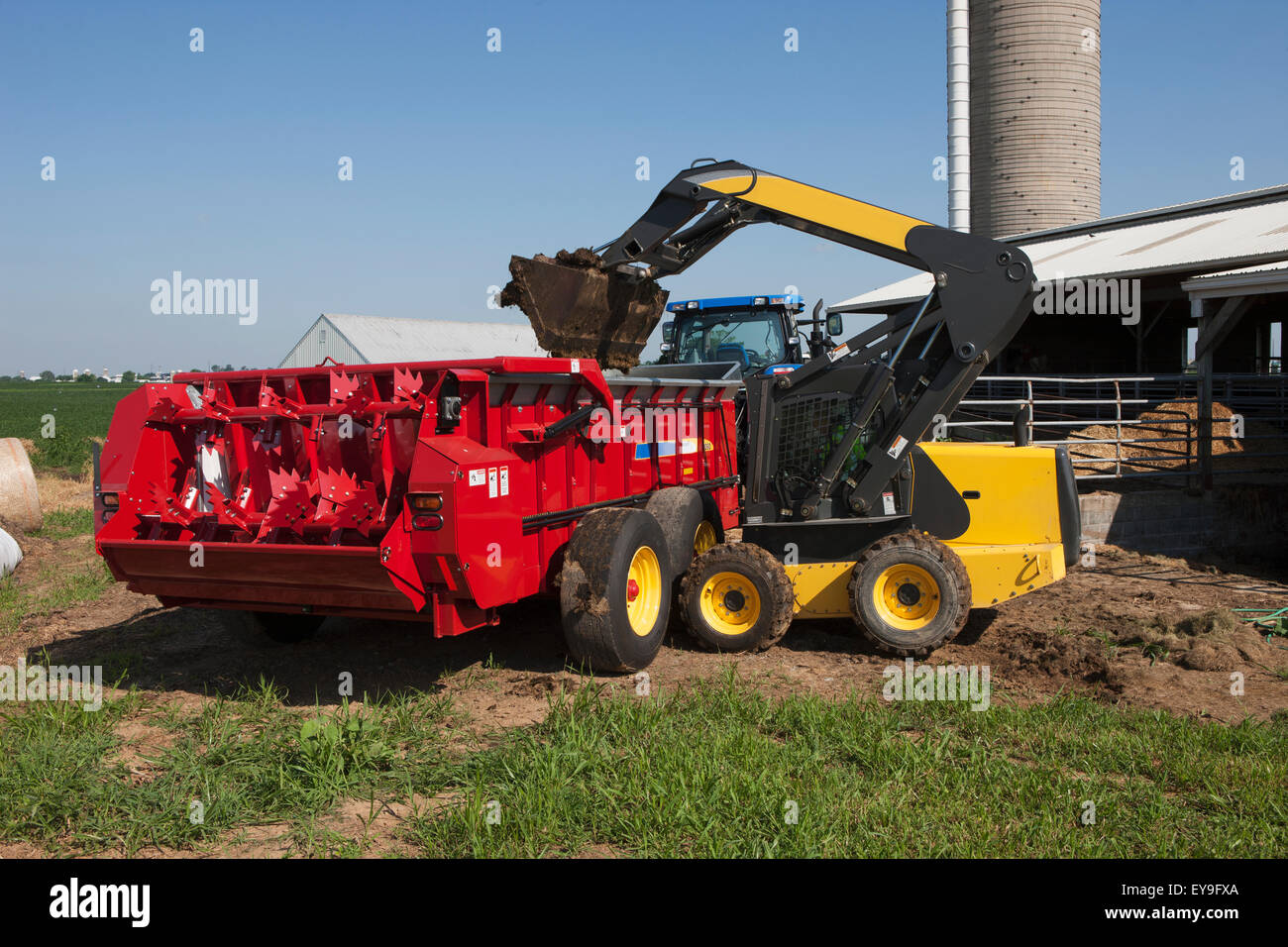 New Holland L180 Skid Steer Loader Stock Photos New Holland L180