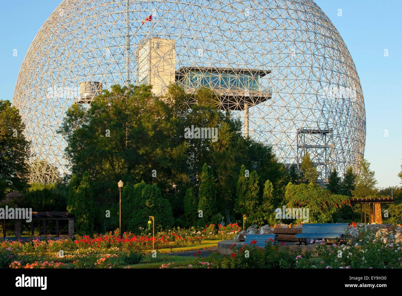 Montreal Biosphere; Montreal, Quebec, Canada Stock Photo