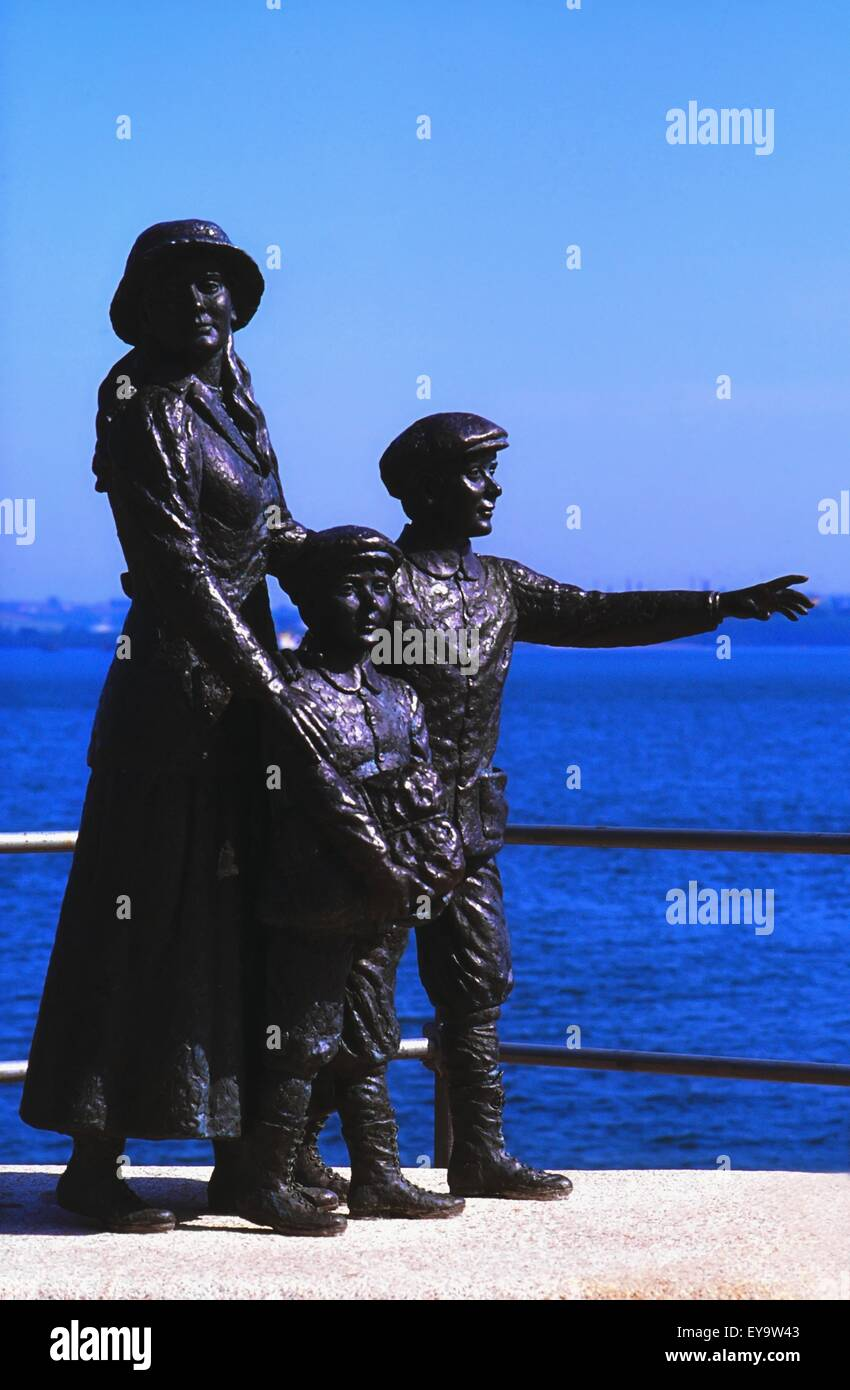 19th Century,American History,Annie Moore - Stock Image