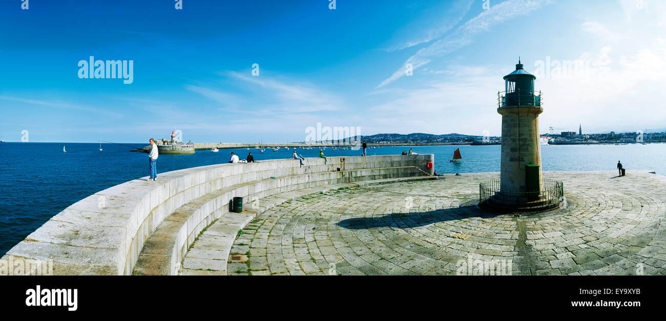 Kingstown County Dublin Ireland Stock Photos & Kingstown County ...