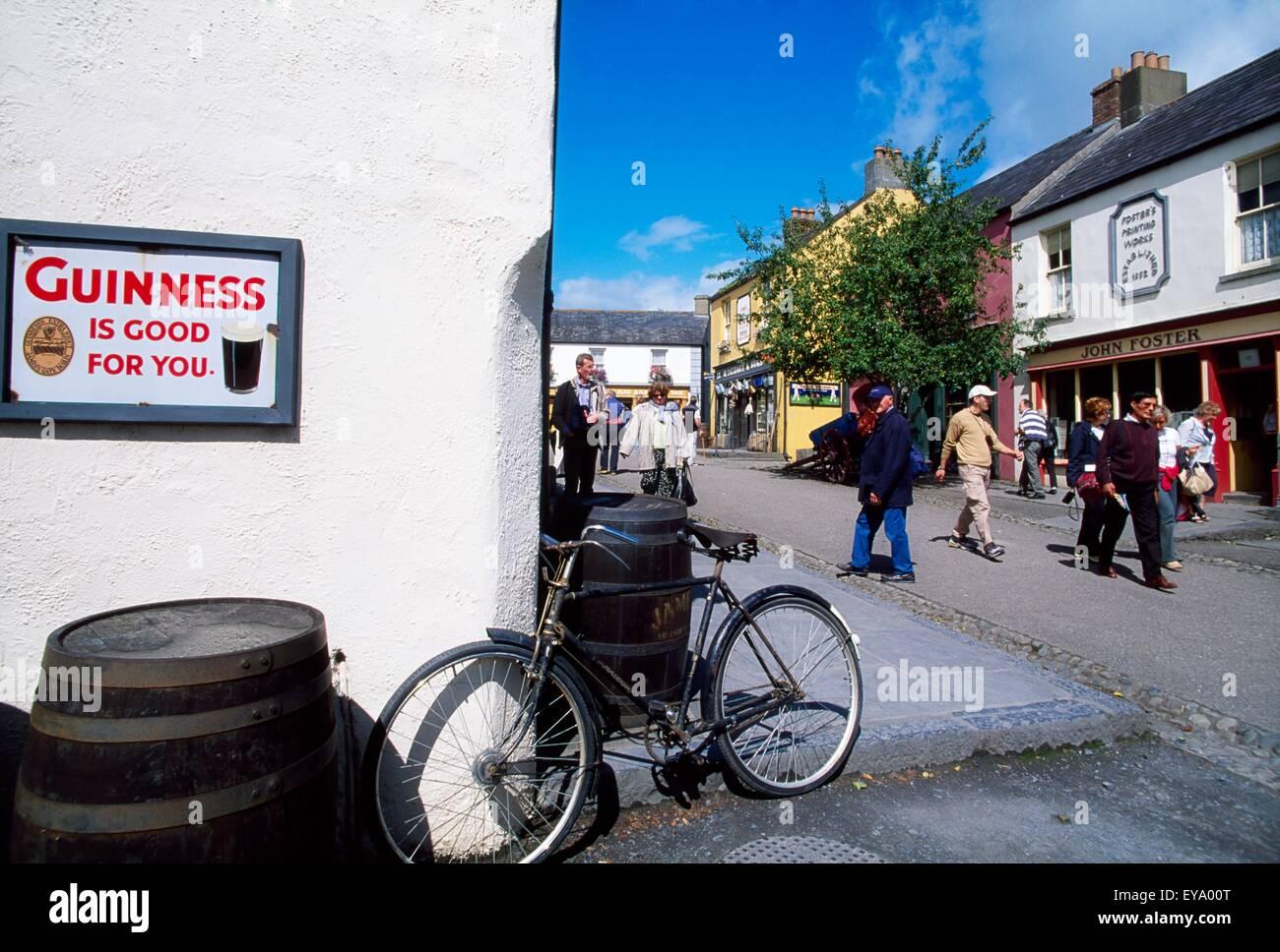 Folk Park, Bunratty, Co Clare, Ireland - Stock Image