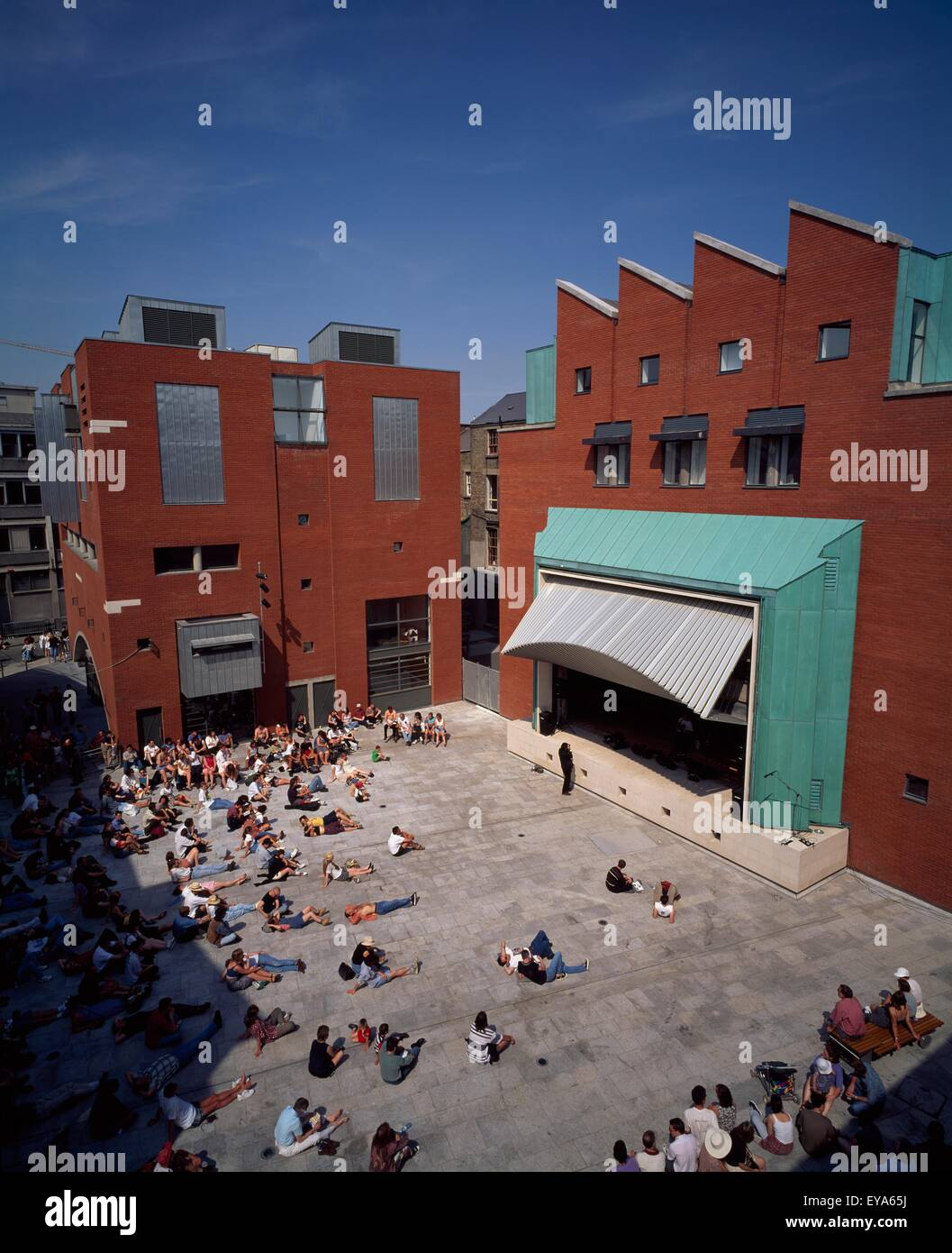 National Photographic Archive, Meeting House Square, Temple Bar, Dublin City, County Dublin, Ireland - Stock Image