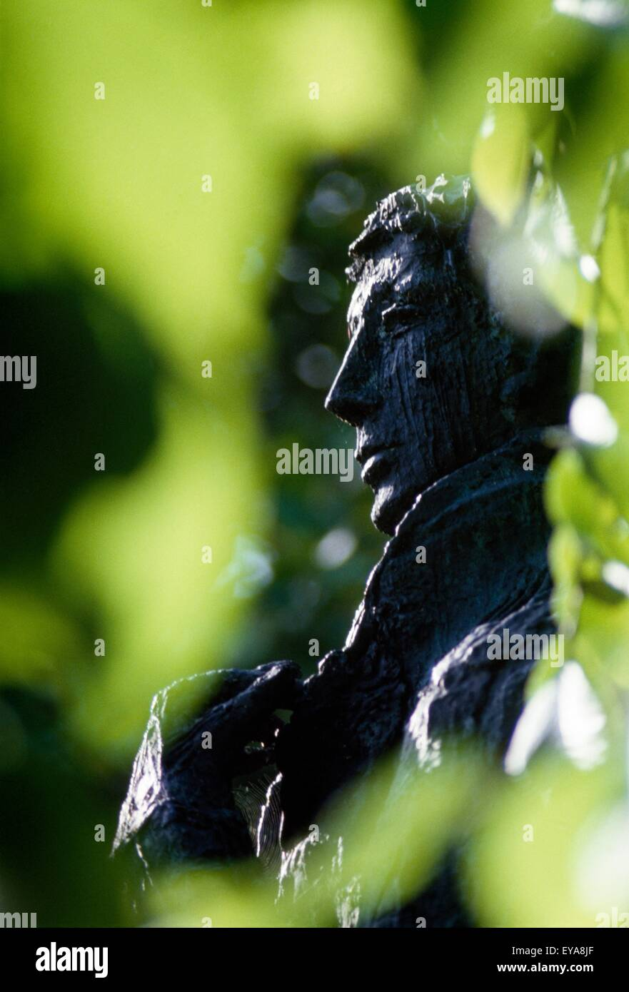 Statue Of Wolfe Tone, St. Stephen's Green, Dublin City, County Dublin, Ireland - Stock Image