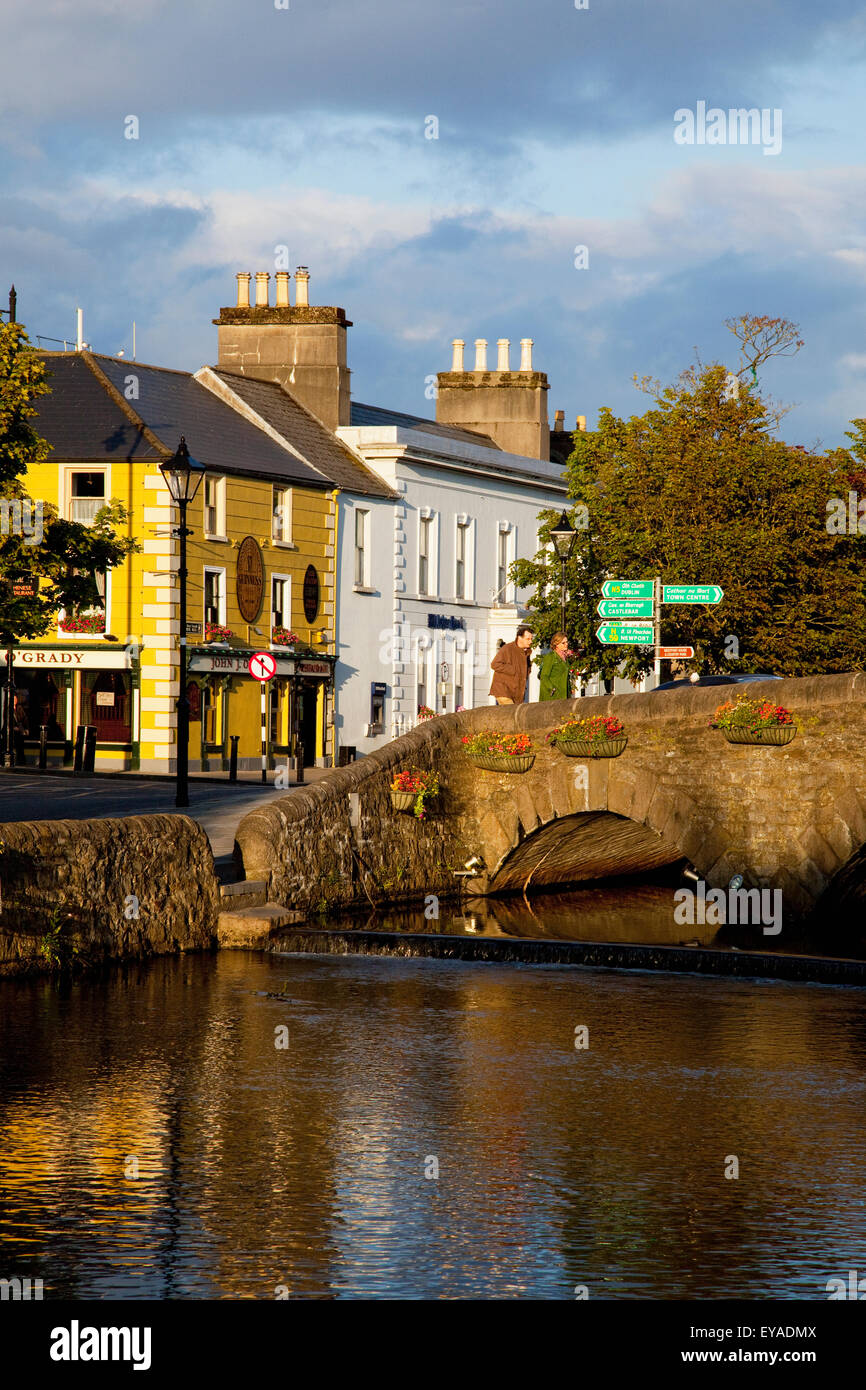 River carrowbeg westport county mayo stock photos river for The westport