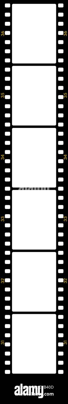 Negative Film Frames Stock Photos & Negative Film Frames Stock ...