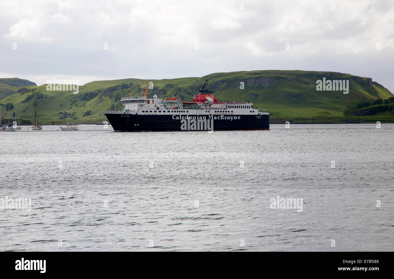 Caledonian MacBrayne ferry at Oban, Argyll and Bute, Scotland, UK Stock Photo