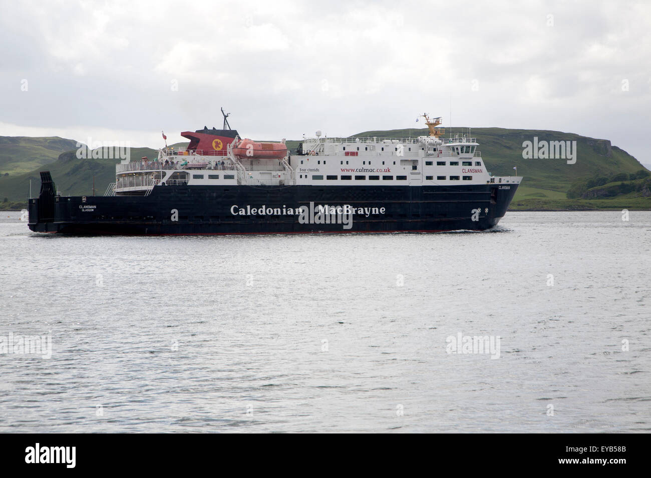 Caledonian MacBrayne ferry at Oban, Argyll and Bute, Scotland, UK Stock Photo