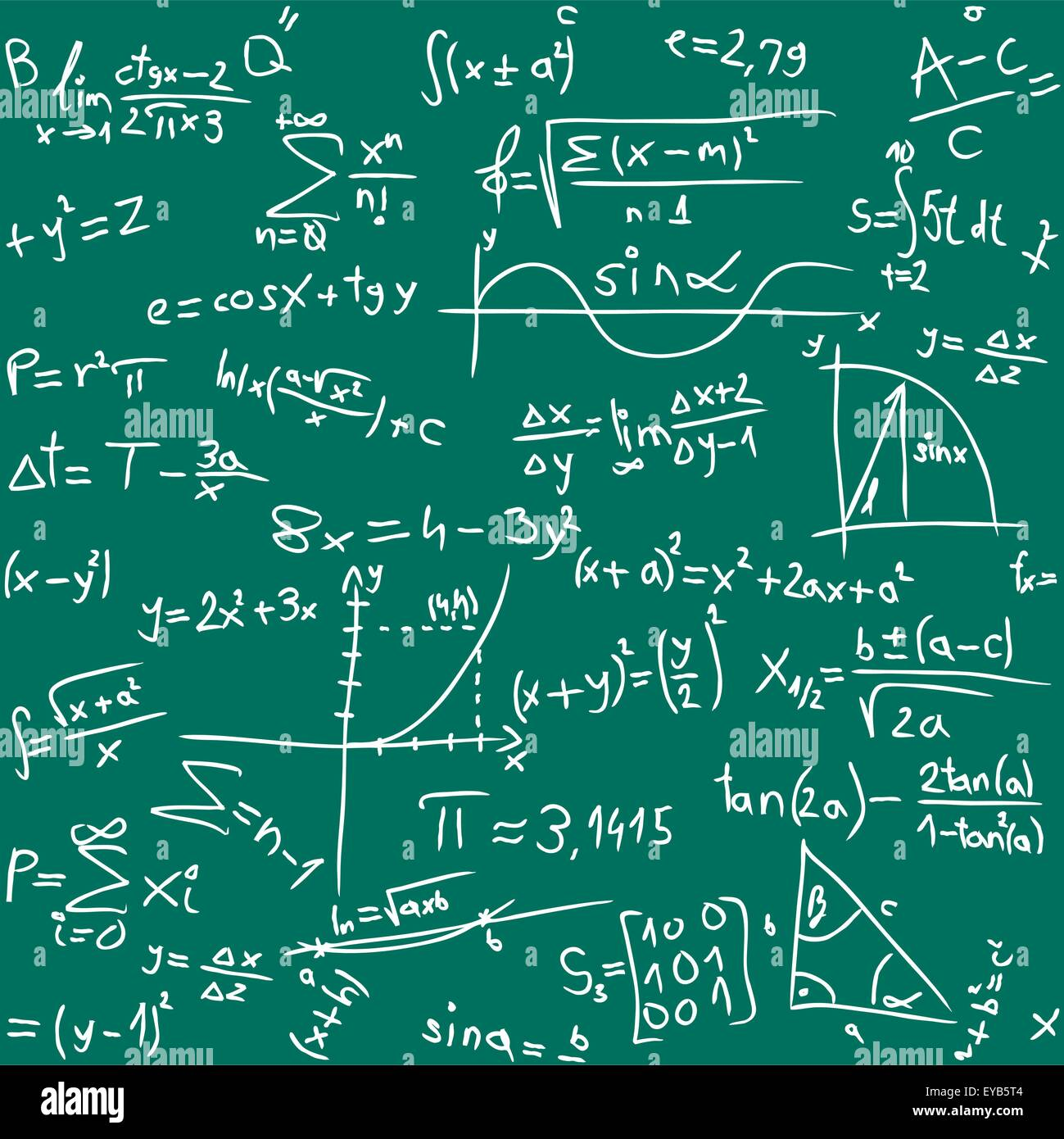Math Calculation Board Stock Photos & Math Calculation Board Stock ...