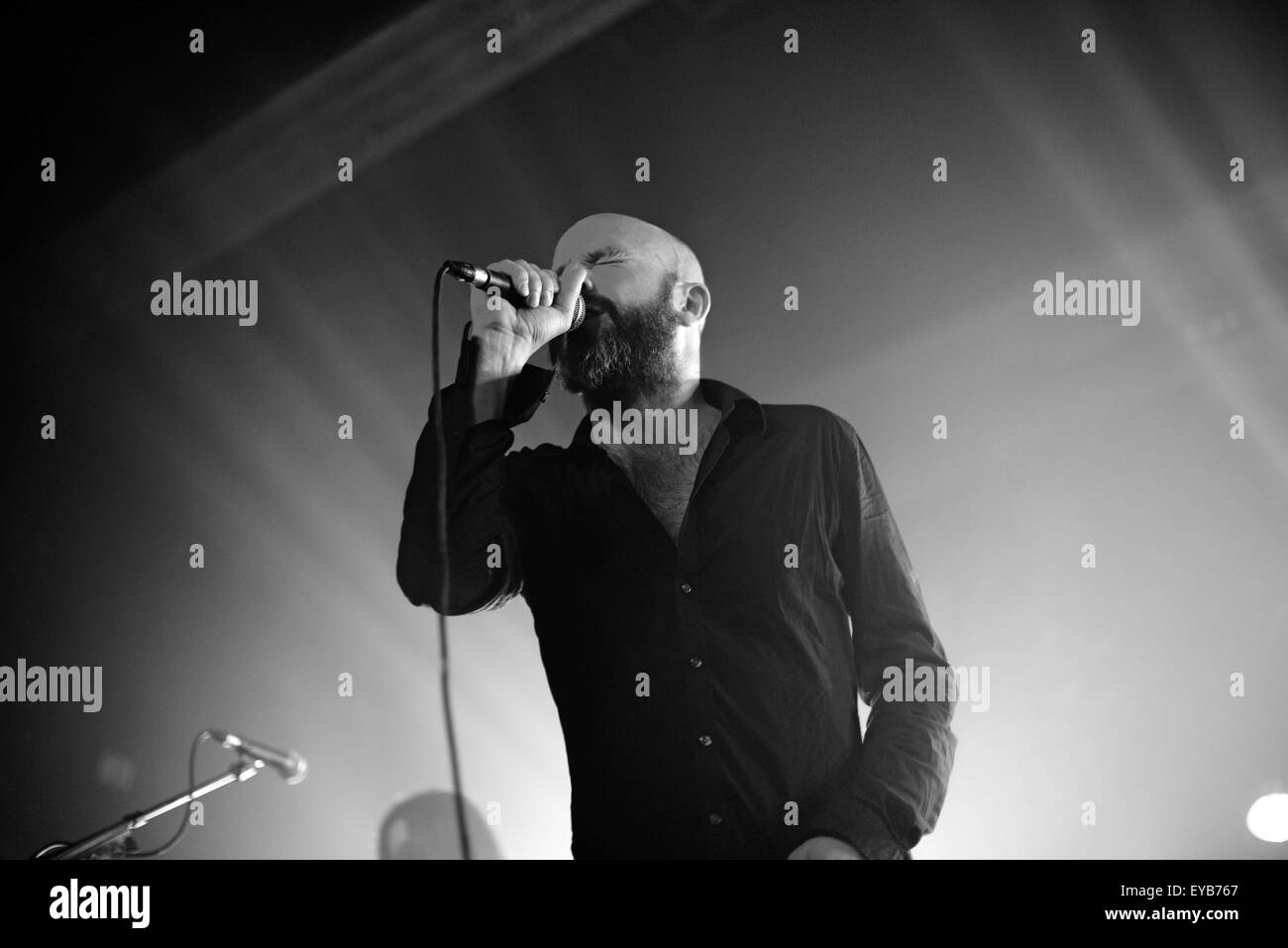 Selig performing live at Grosse Freiheit 36  Featuring: Selig, Jan Plewka Where: Hamburg, Germany When: 24 May 2015 - Stock Image