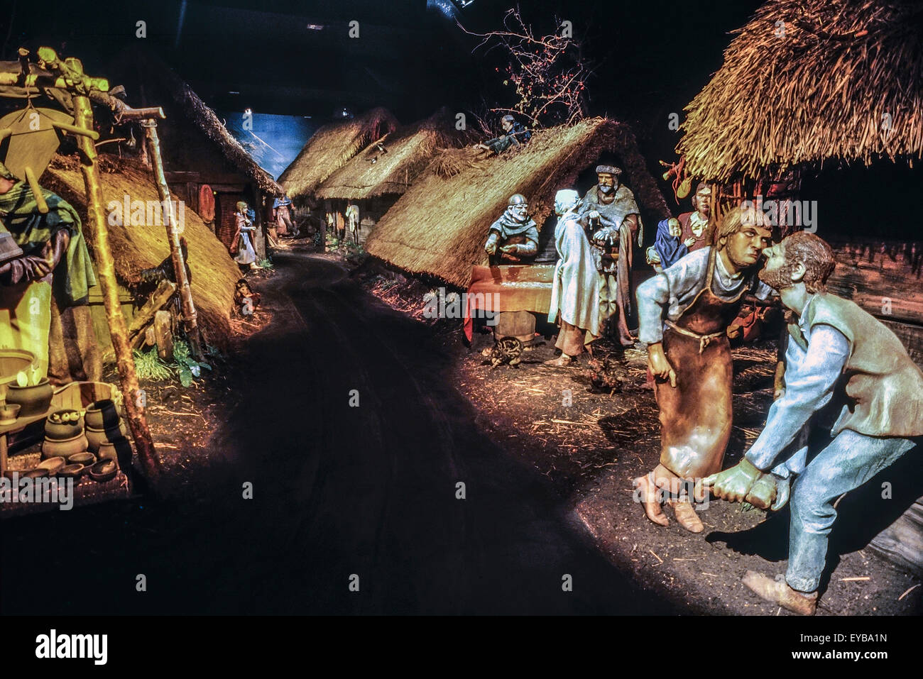 JORVIK Viking Centre. York. England. UK - Stock Image