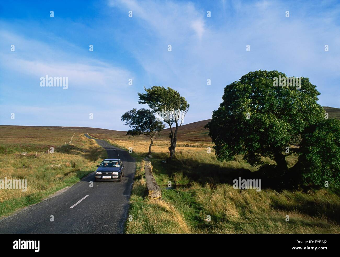 Sally Gap, Wicklow Mountains, Ireland - Stock Image
