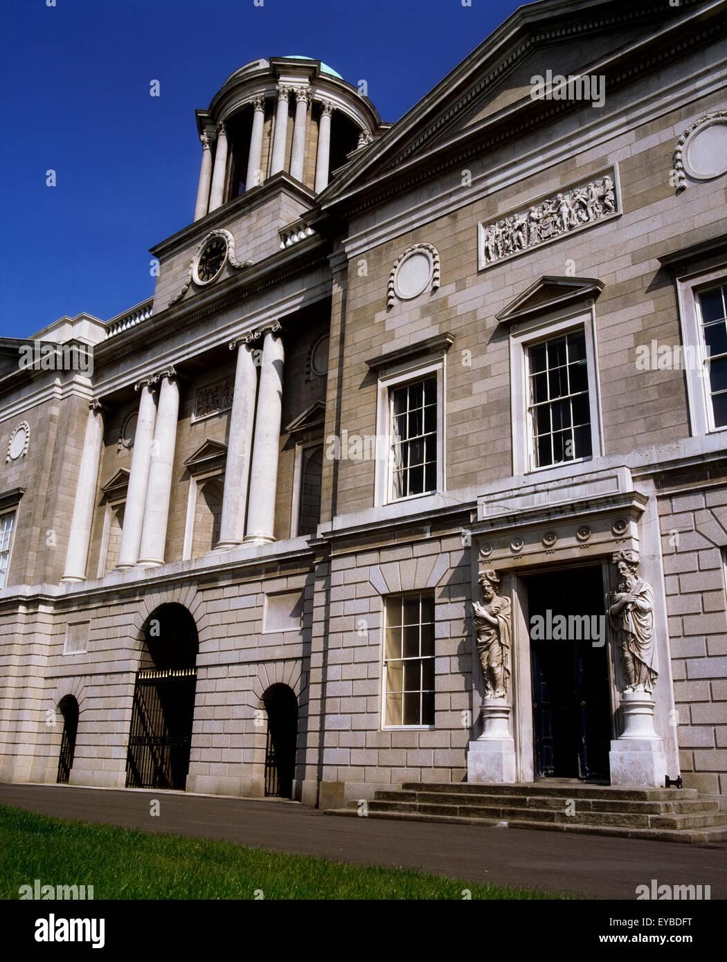 King's Inns, Boltan Street, Dublin, Co Dublin, Ireland; Building Designed By James Gandon In The 19Th Century - Stock Image