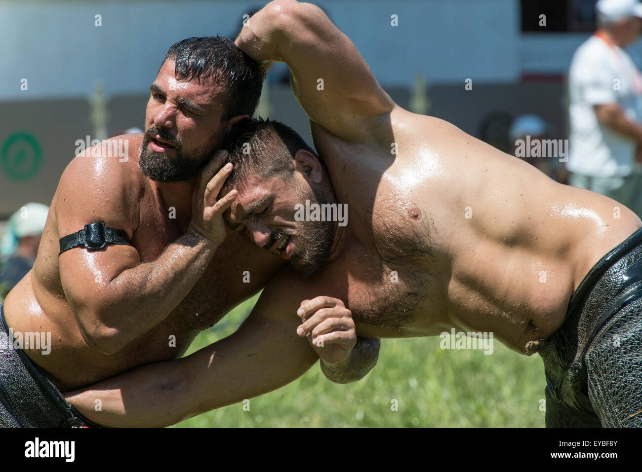 latex ol wrestling