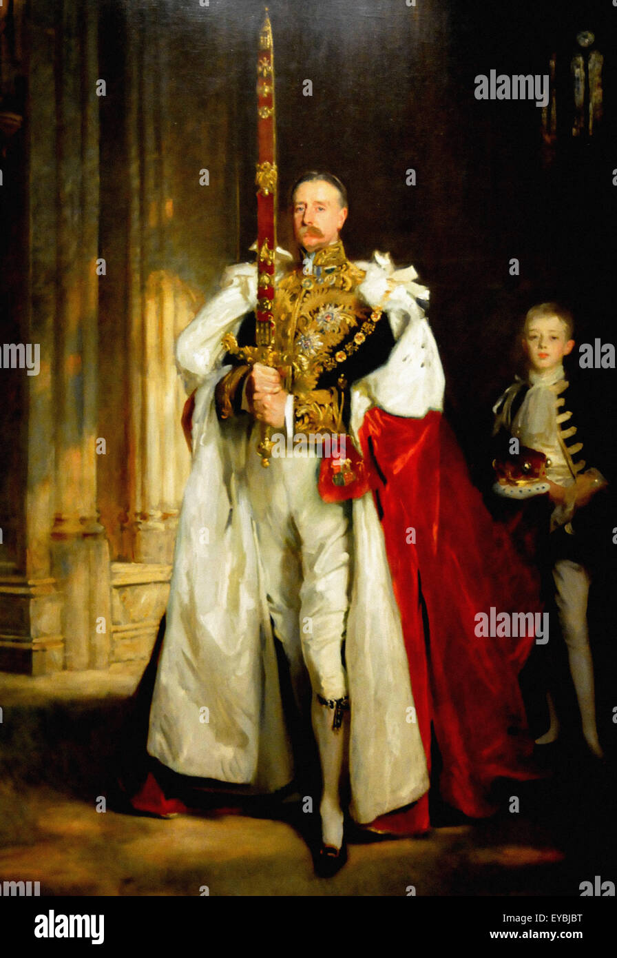 John Singer Sargent  Charles Stewart, Sixth Marquess of Londonberry - Stock Image
