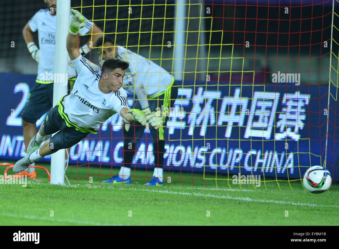 July 26, 2015 - Guangzhou, People\'s Republic of China - Real Madrid ...