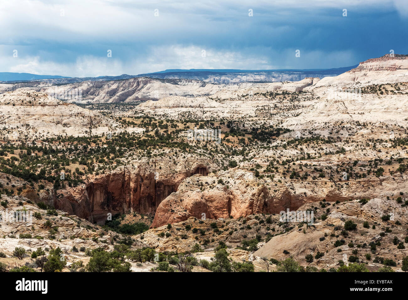 Grand Staircase-Escalante National Monument, Utah - Stock Image
