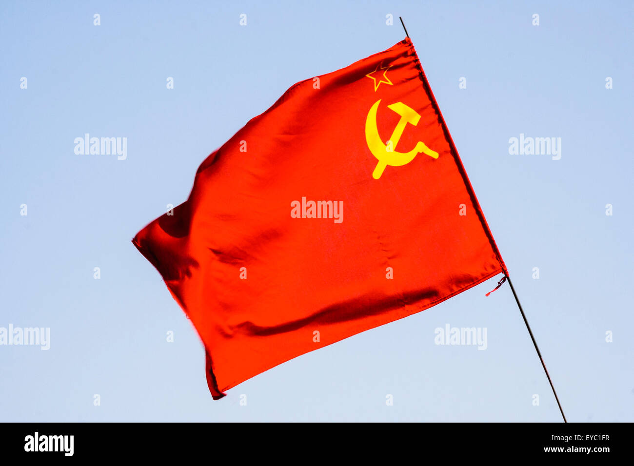 hammer and sickle flag stock photos amp hammer and sickle