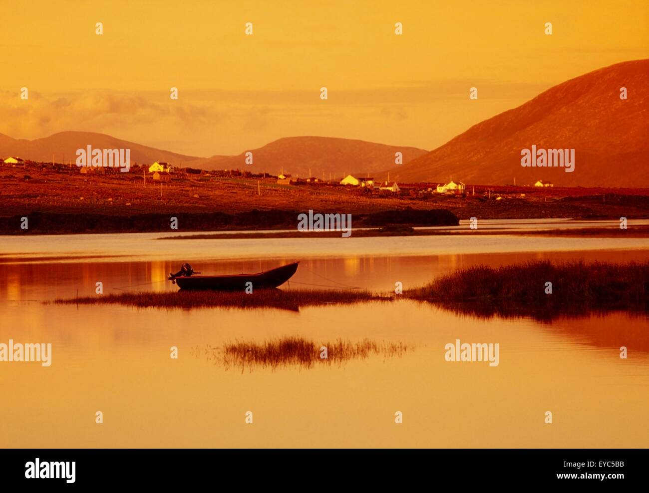 Cashel, Achill Island, County Mayo, Ireland - Stock Image
