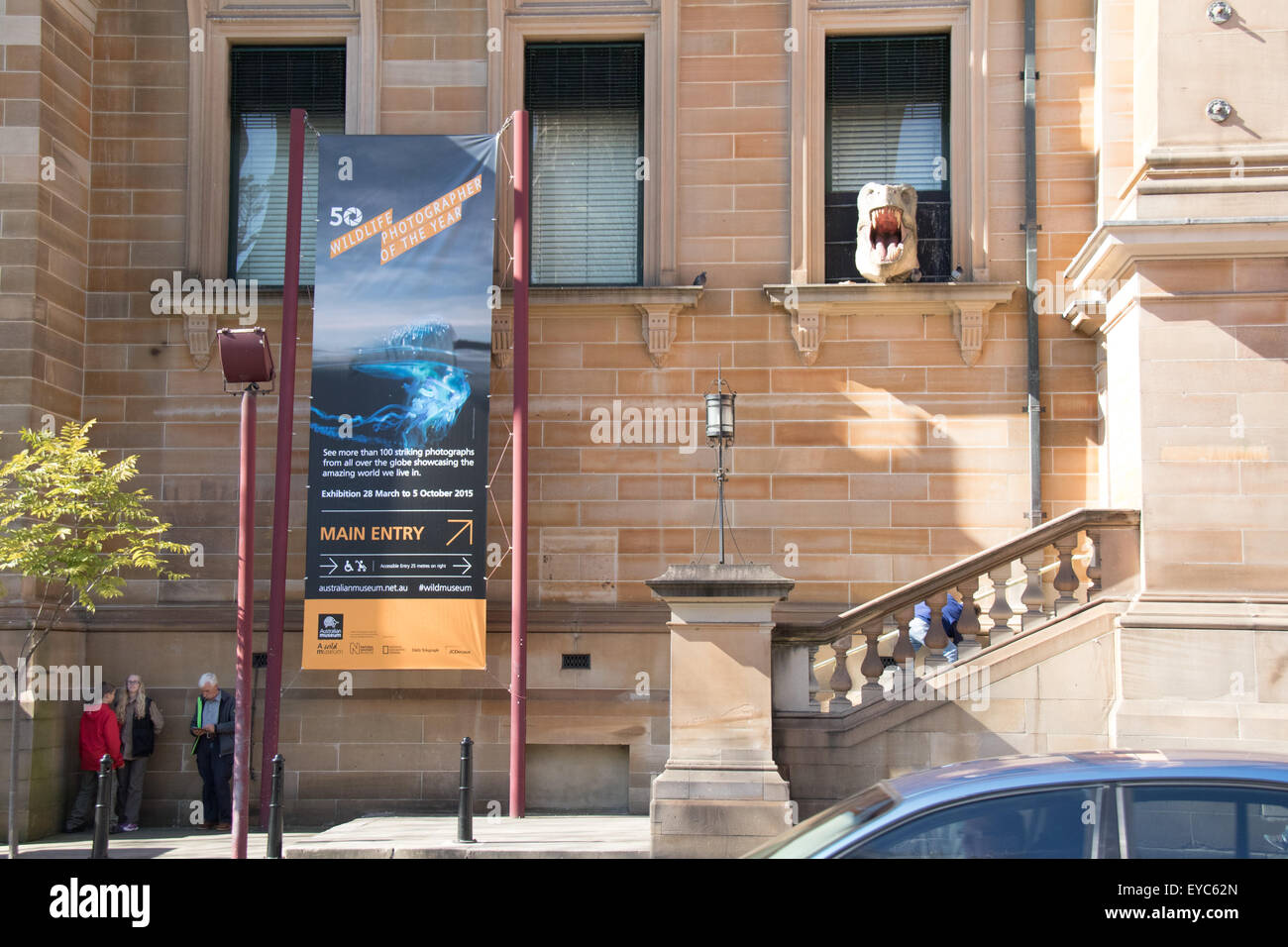 The Australian Museum on the corner of College Street and