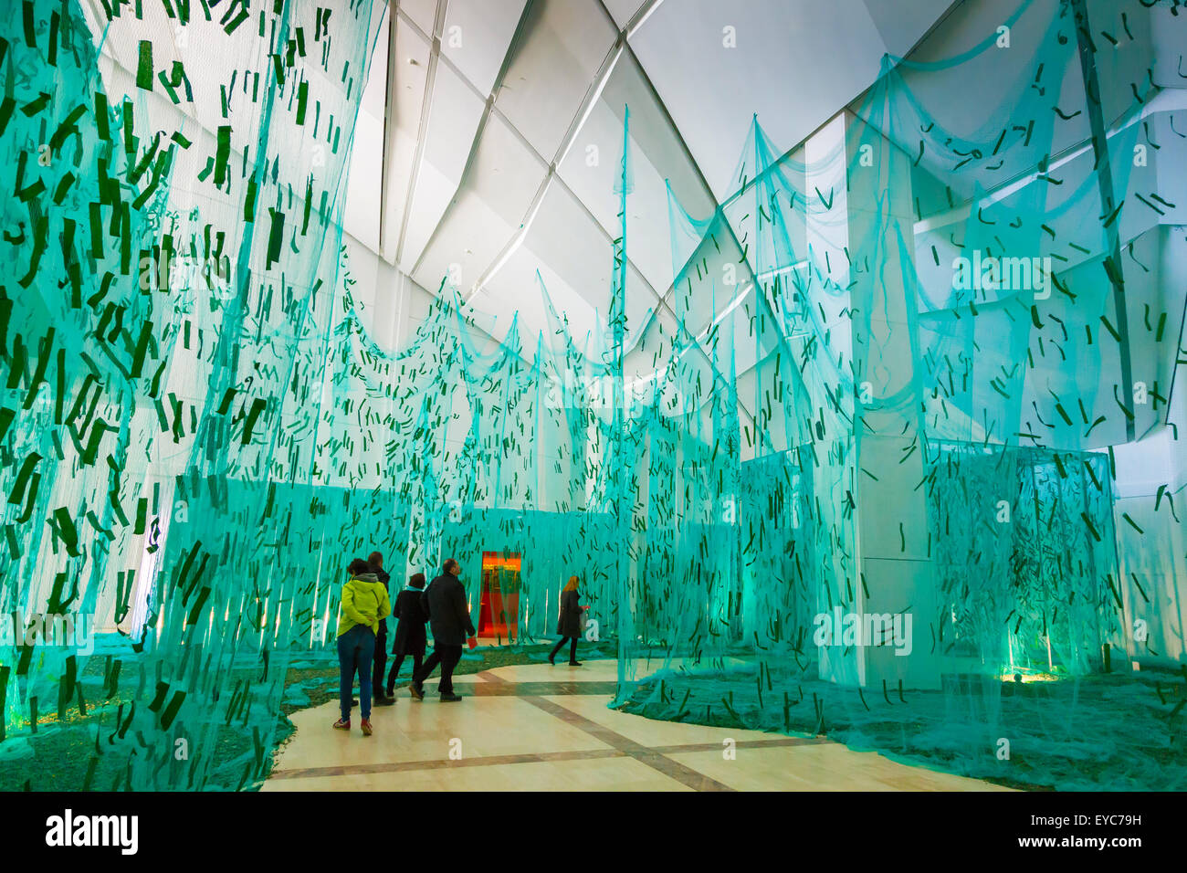 Way of St. James exhibition. City of Culture. - Stock Image