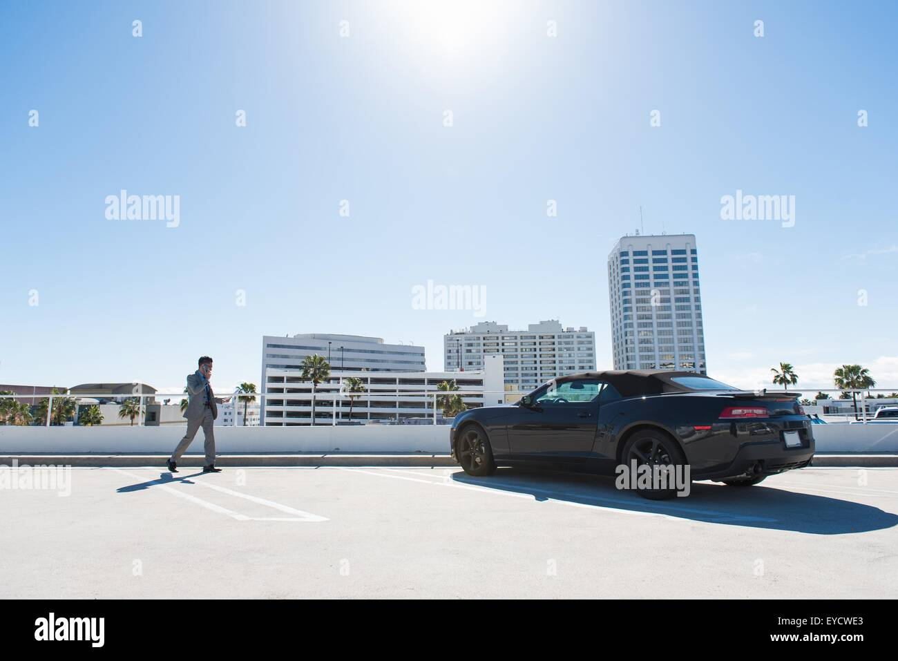 Rooftop Car Park High Resolution Stock Photography And Images Alamy
