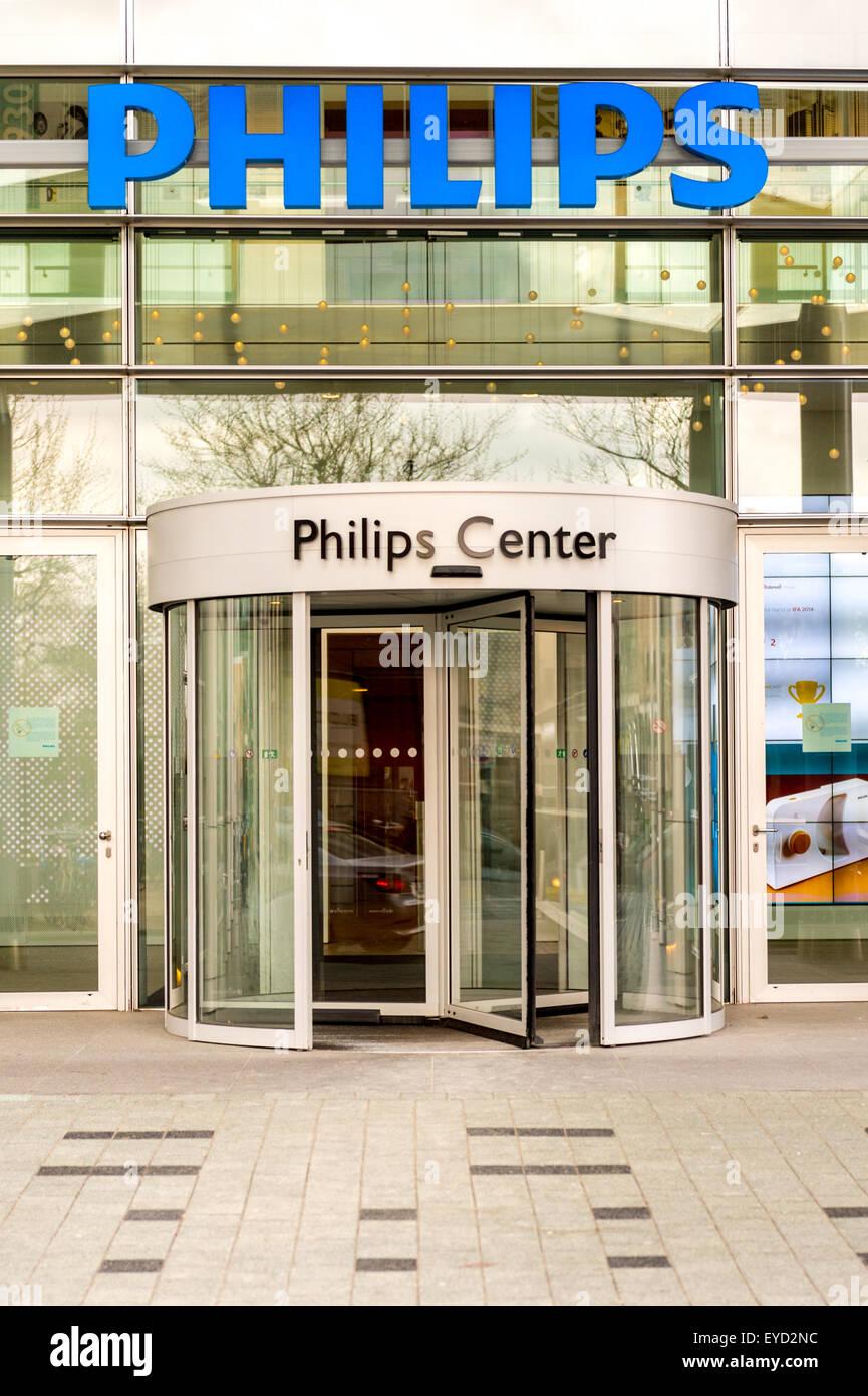 Dutch electronics giant Philips world headquarters Amsterdam, Netherlands - Stock Image