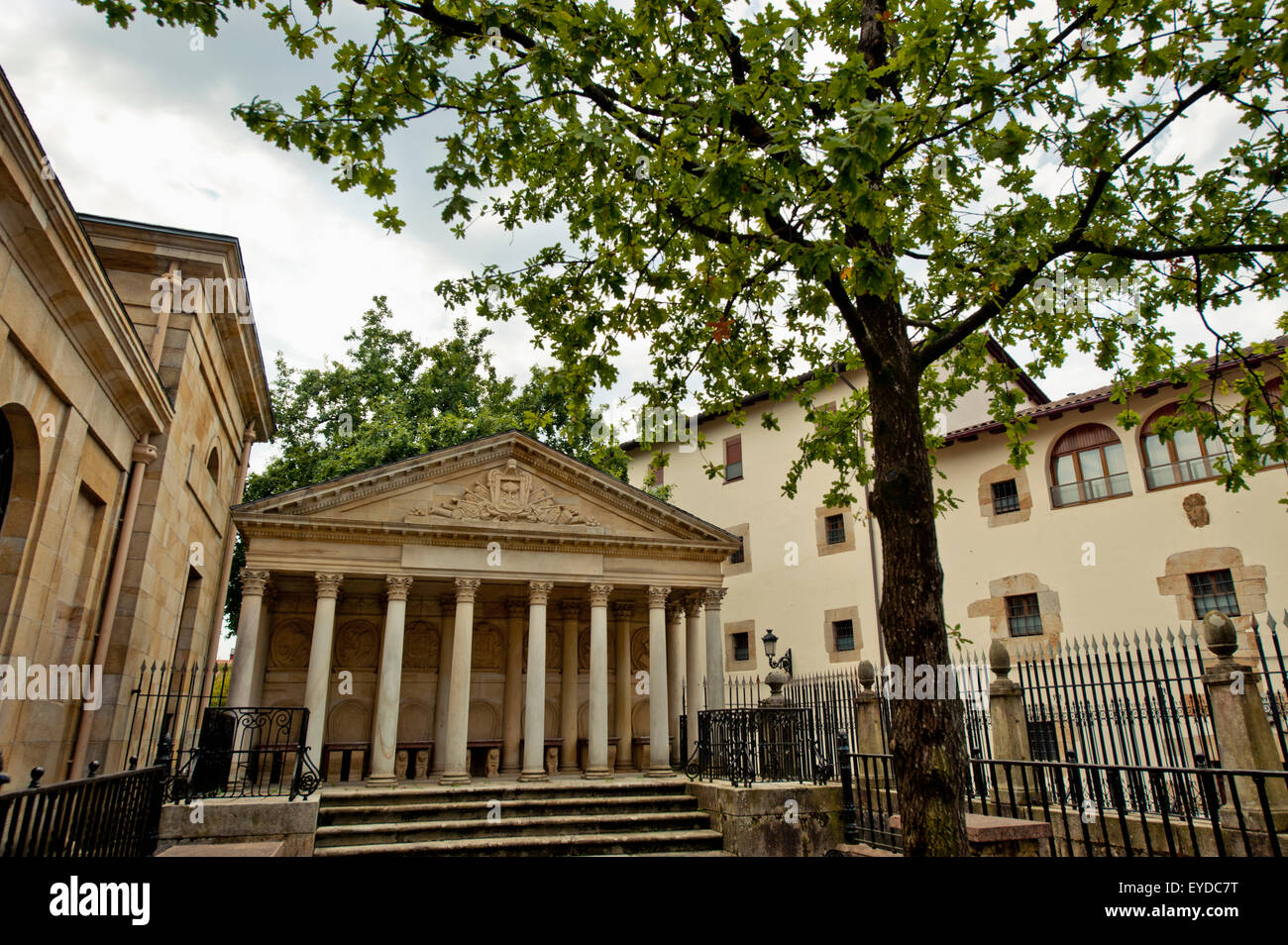 Casa De Juntas, House Of The Historical Archive Of The Basque Country, Gernika-Lumo, Basque Country, Spain Stock Photo