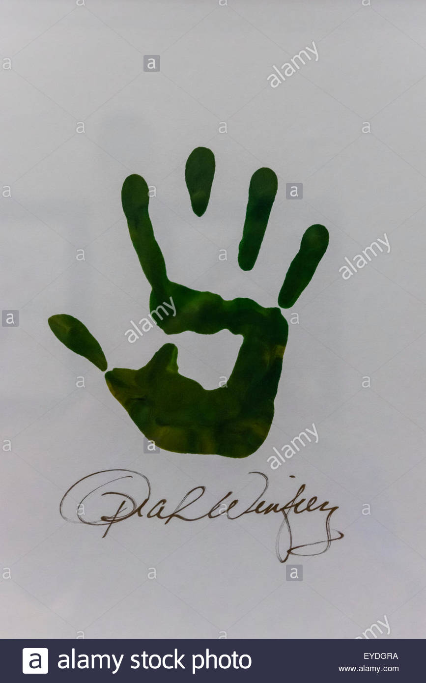 Handprint Digital Stock Photos & Handprint Digital Stock Images - Alamy