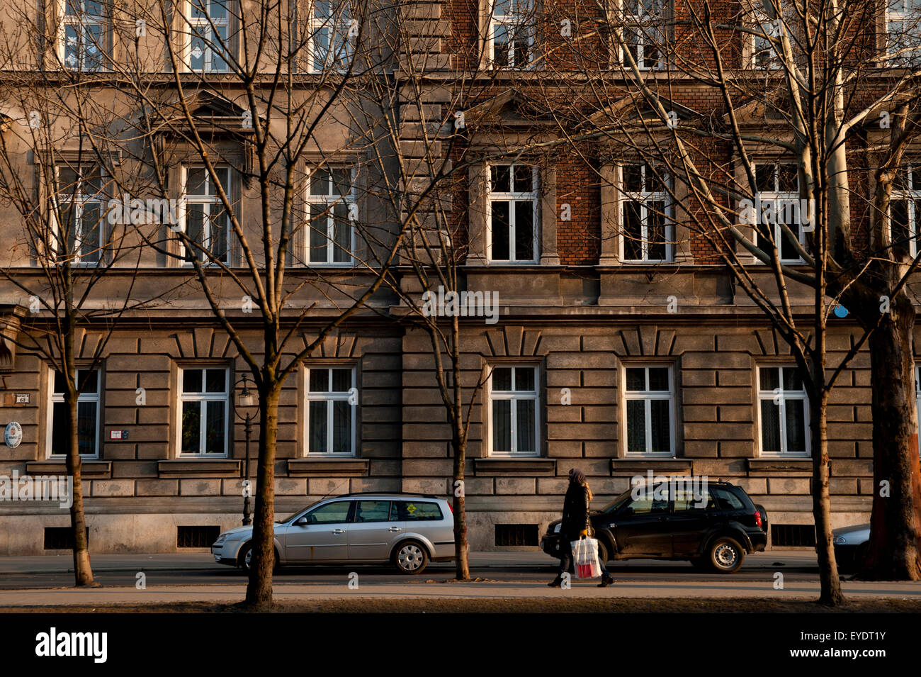 Buildings in Andrassy Ut, Budapest, Hungary - Stock Image