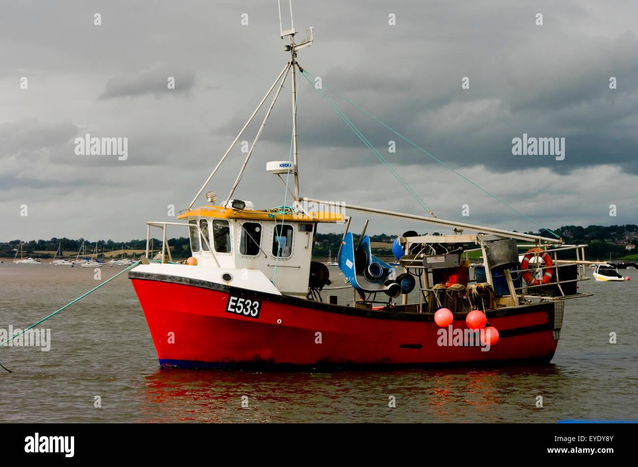 Exe Estuary, Devon, Uk - Stock Image