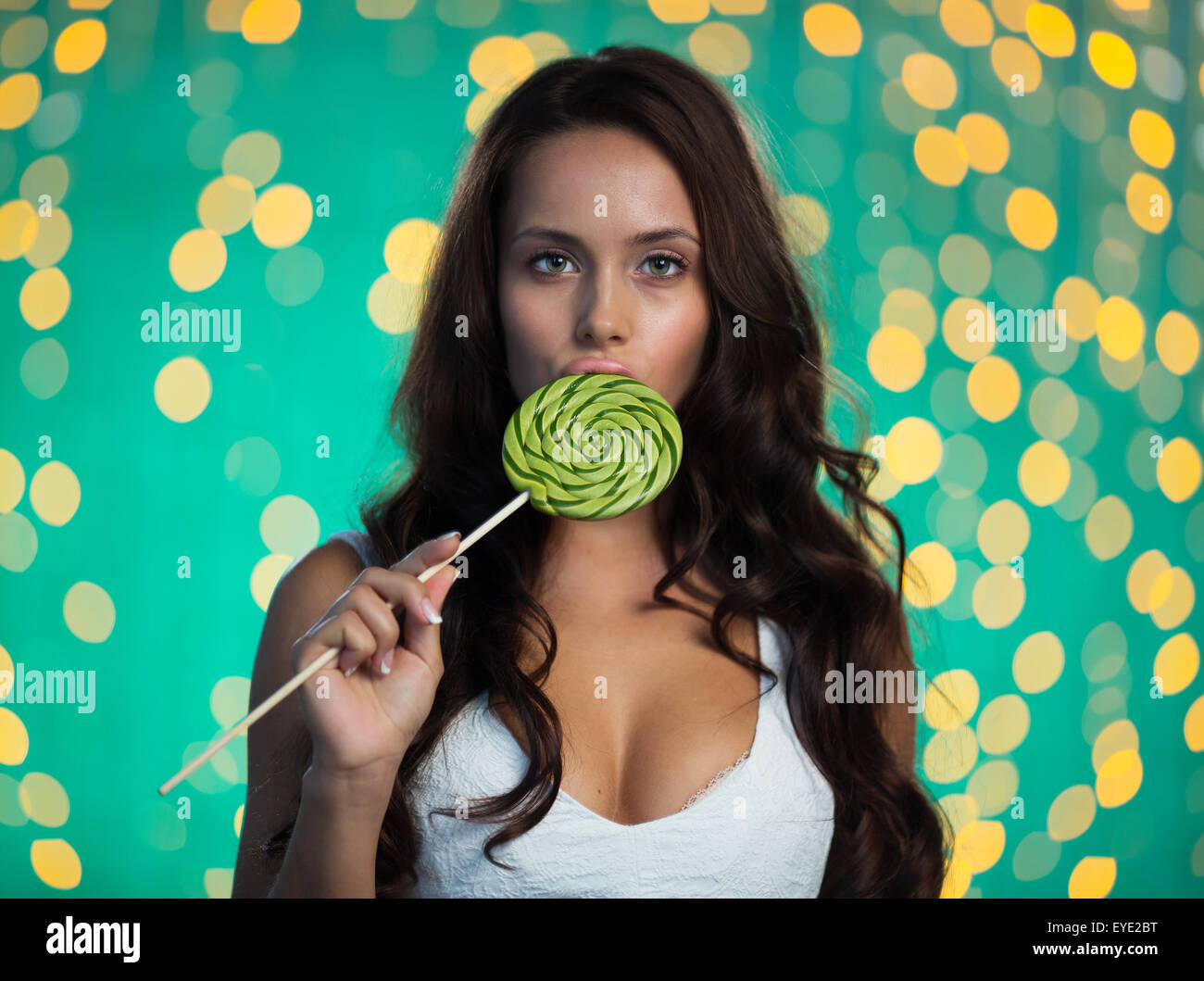 Large lollipop gorgeousyear licks old a excellent topic join
