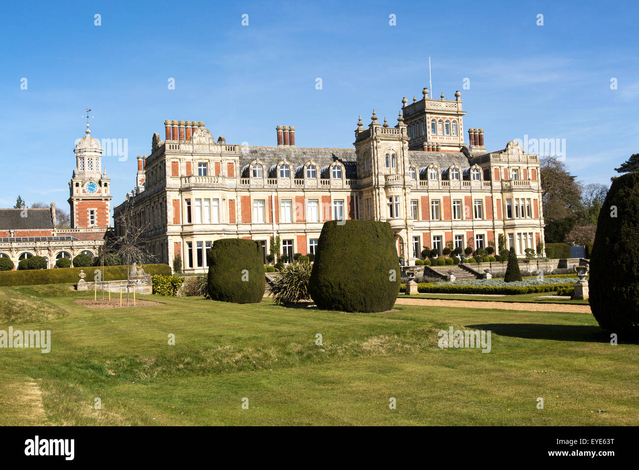 Somerleyton Hall country house, near Lowestoft, Suffolk, England, UK - Stock Image