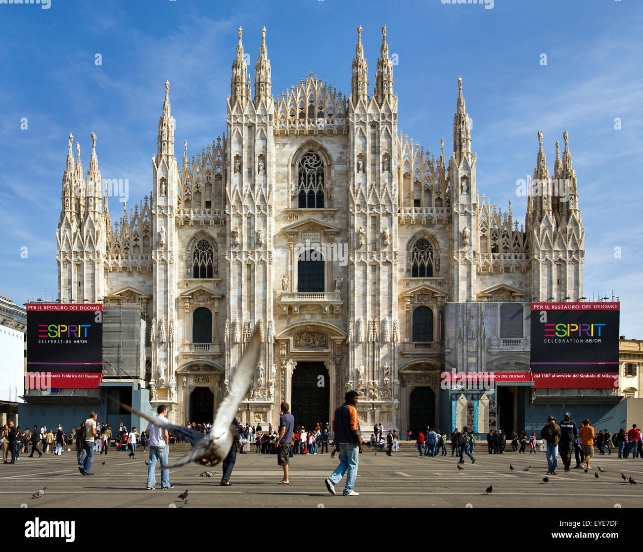 Milan city views Stock Photo