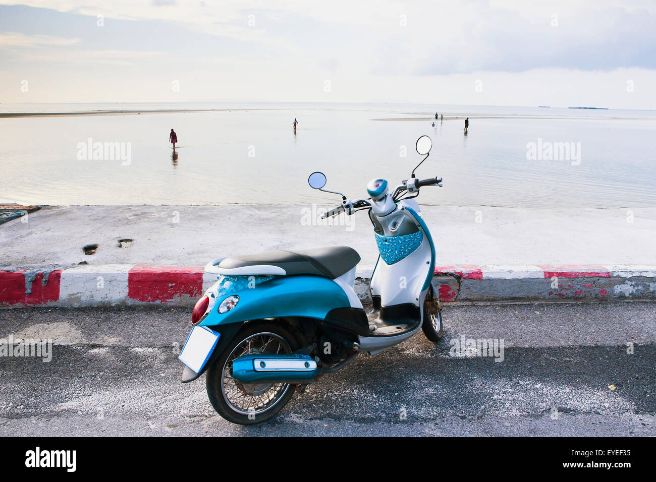 Thailand Scooter Tourist Stock Photos & Thailand Scooter Tourist
