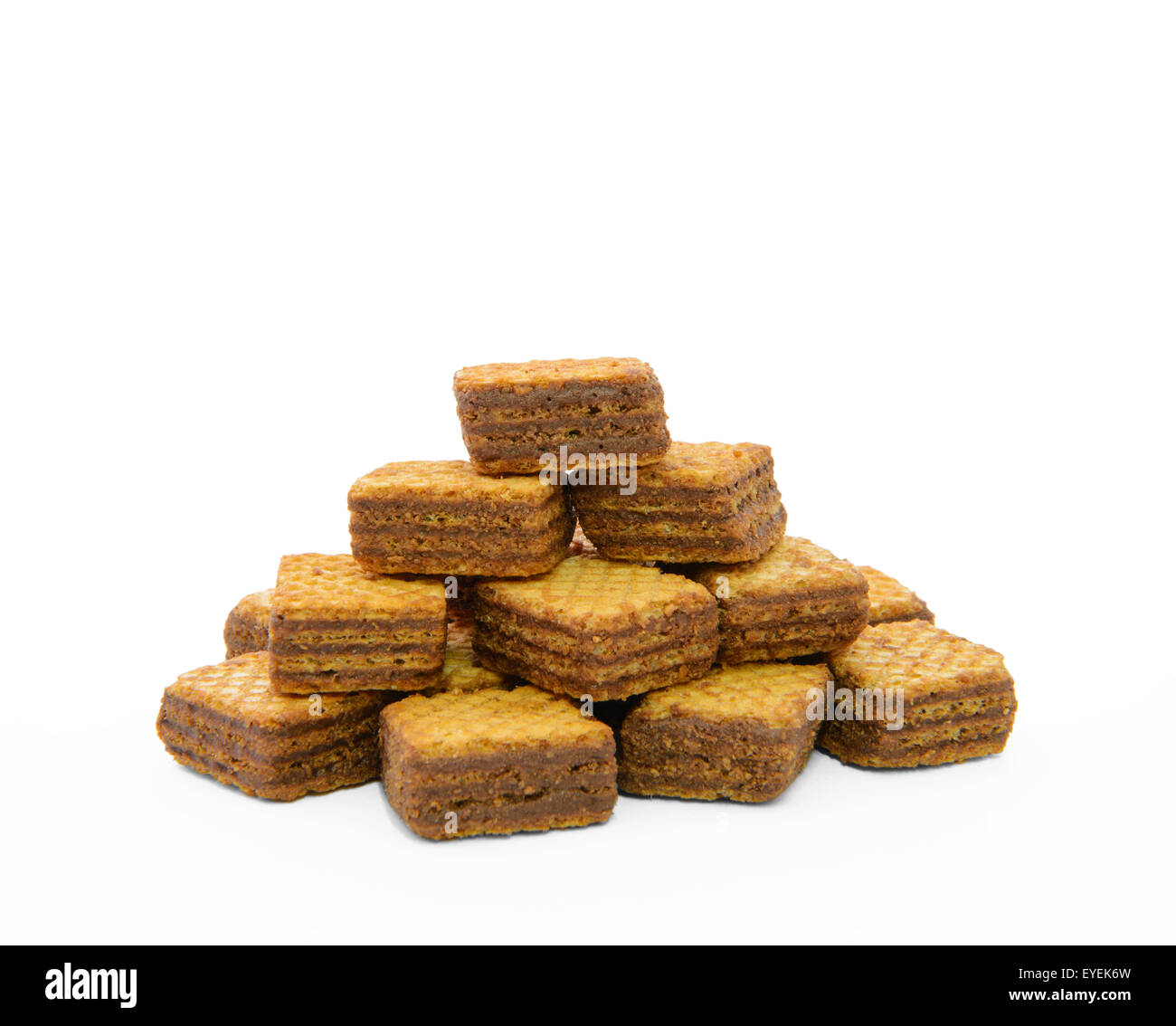 Wafer cubes - Stock Image