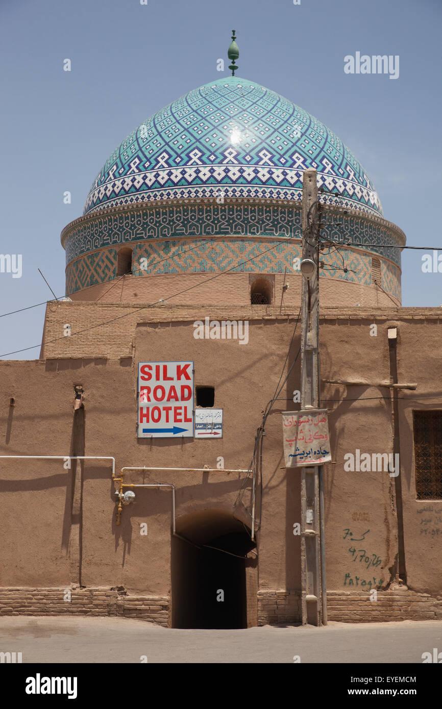 Dome of Imamzade Rokna al-Din; Yazd, Iran - Stock Image