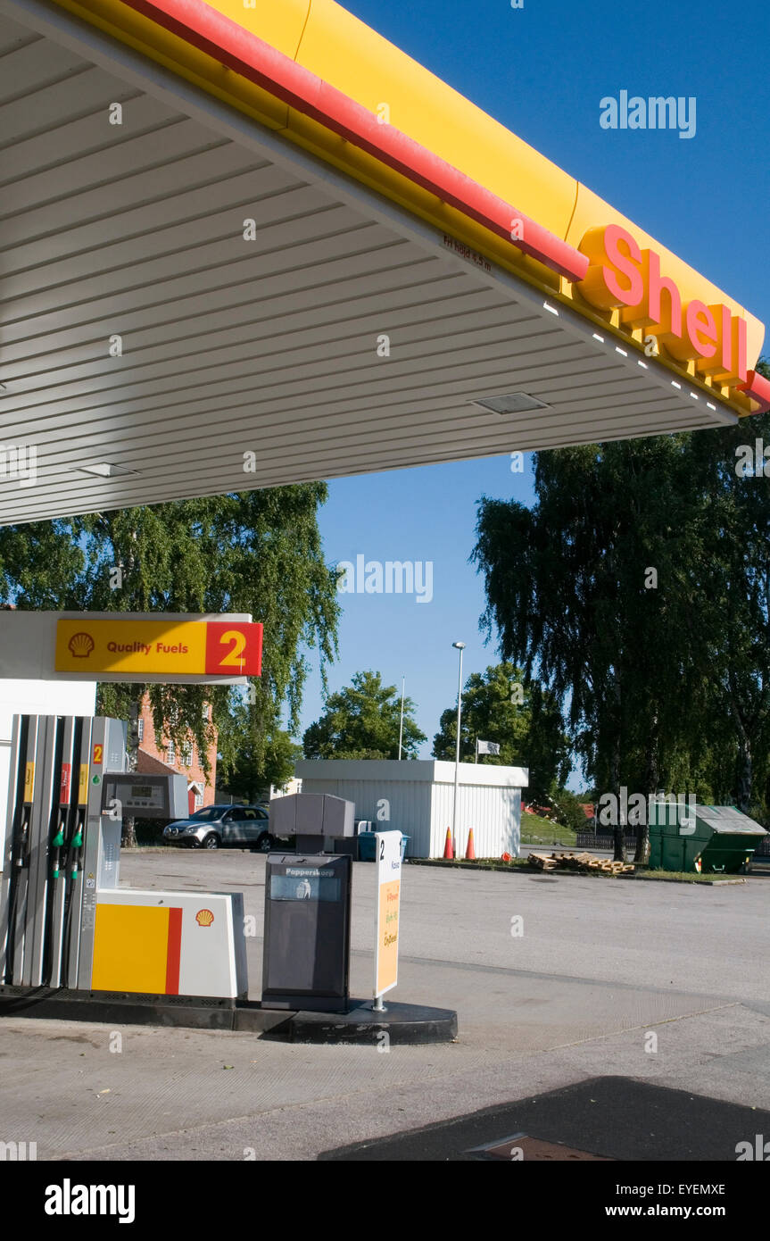 Iowa Gas Prices >> Shell Service Station Stock Photos & Shell Service Station Stock Images - Alamy