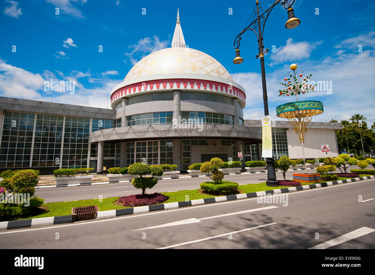 Royal Regalia Museum; Bandar Seri Begawan, Brunei - Stock Image