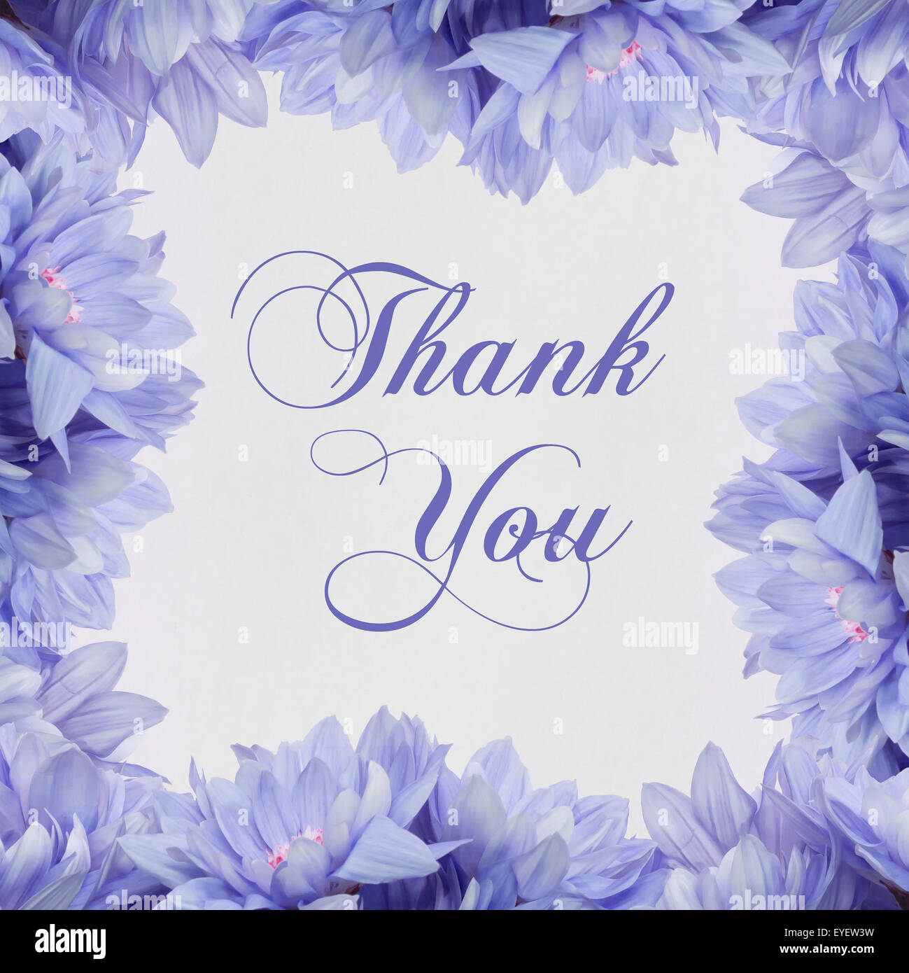 Beautiful Flower Thank You: Thank You , Flowers And Beautiful Handwriting Greeting