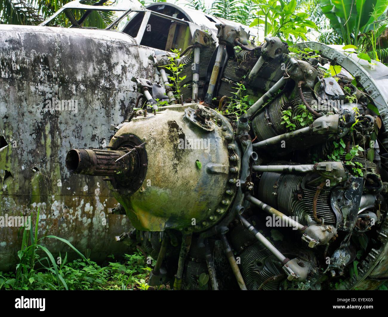 Old Aircraft Wreck Stock Photos & Old Aircraft Wreck Stock Images