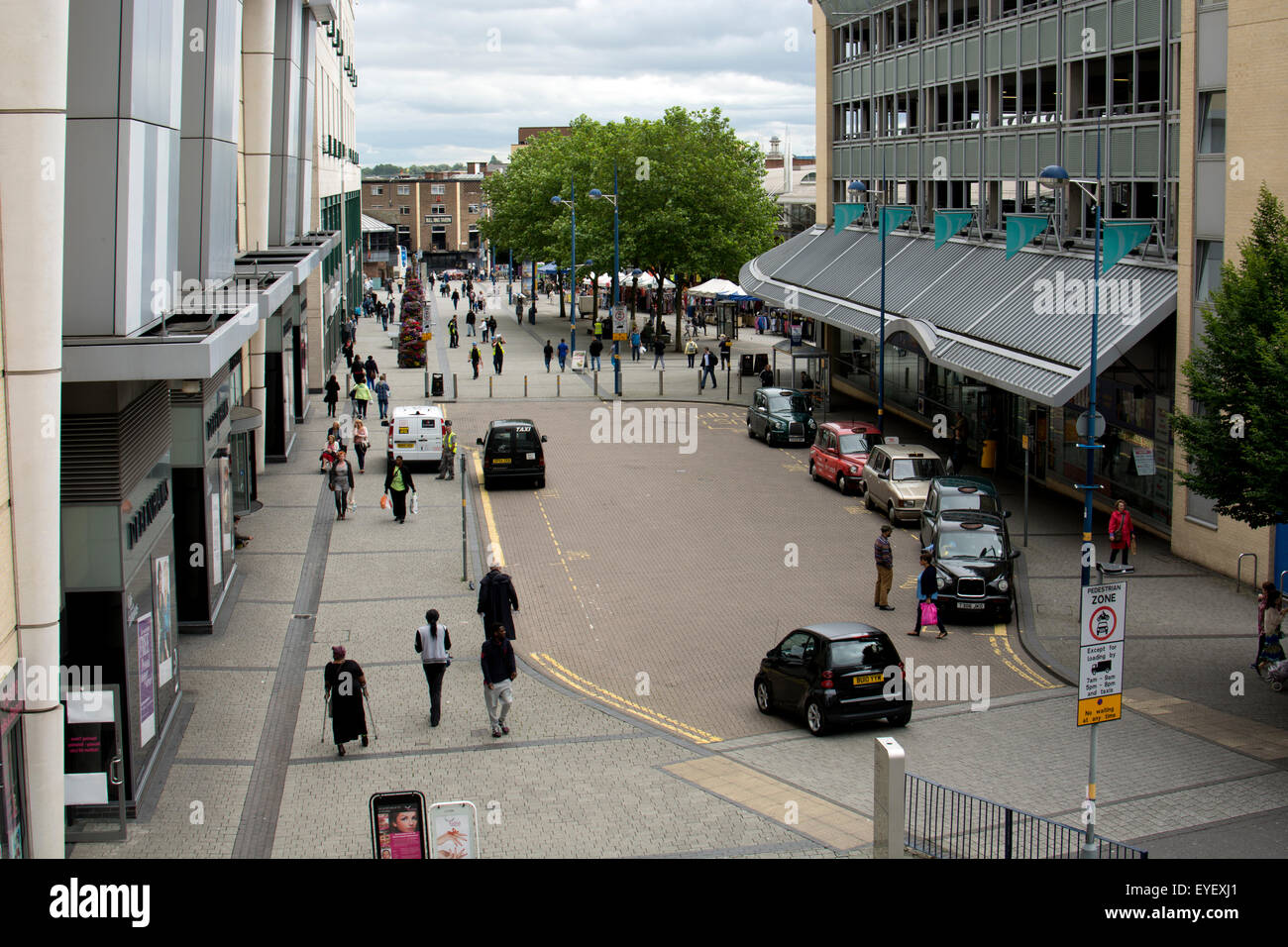 Edgbaston Street, Birmingham city centre, UK - Stock Image