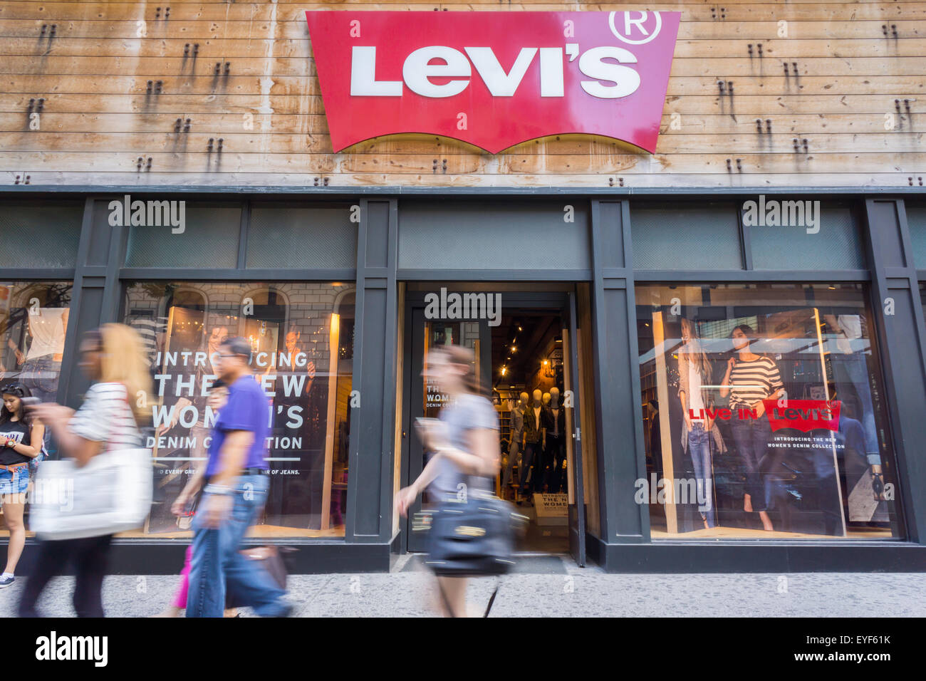 343daf26 The Levi's store in Herald Square in New York on Friday, July 24, 2015