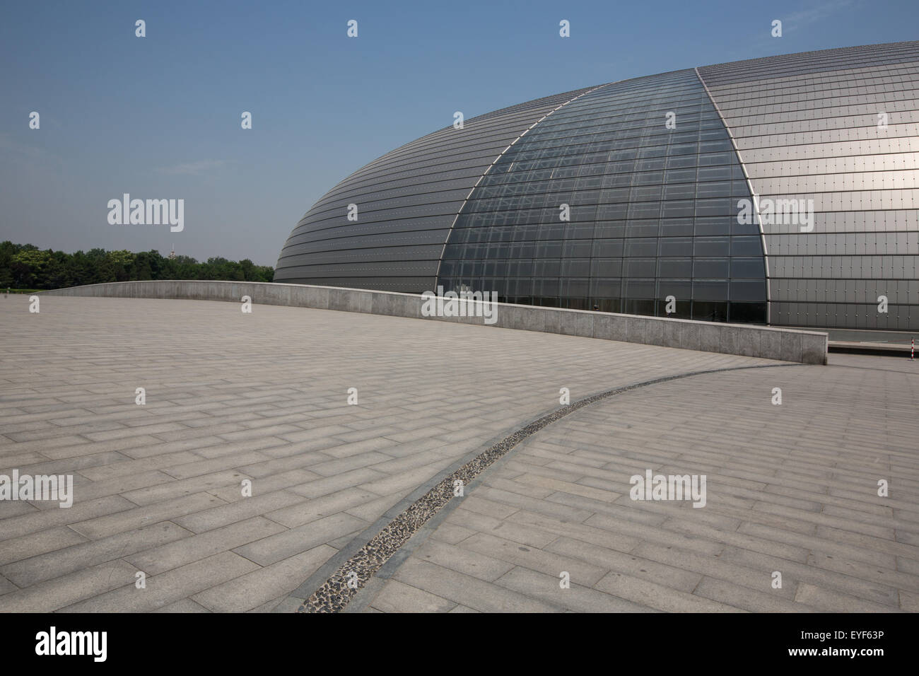 National Centre for Performing Arts, in Beijing, China - Stock Image