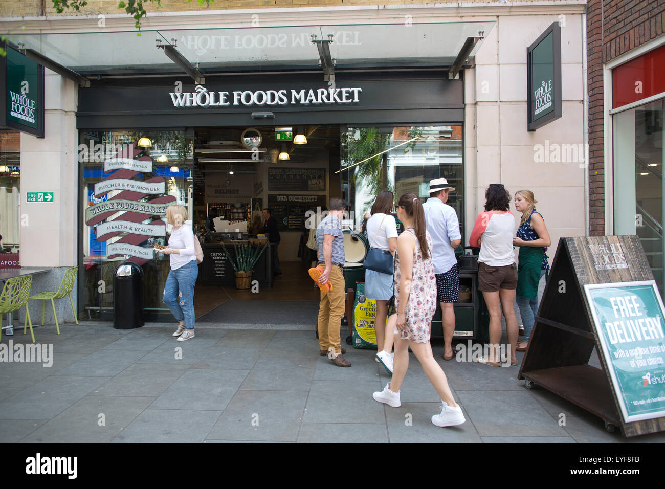 Whole Foods Market, Richmond Upon Thames, Greater London, UK Stock