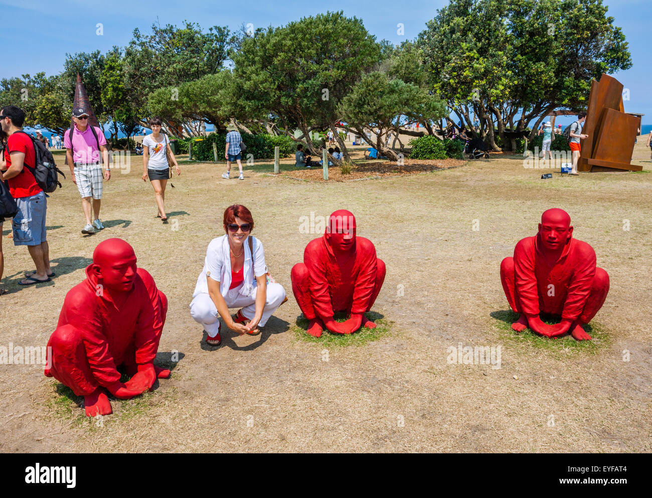 Australia, New South Wales, Sydney, Sculpture by the Sea 2011, annual outdoor art exhibition - Stock Image