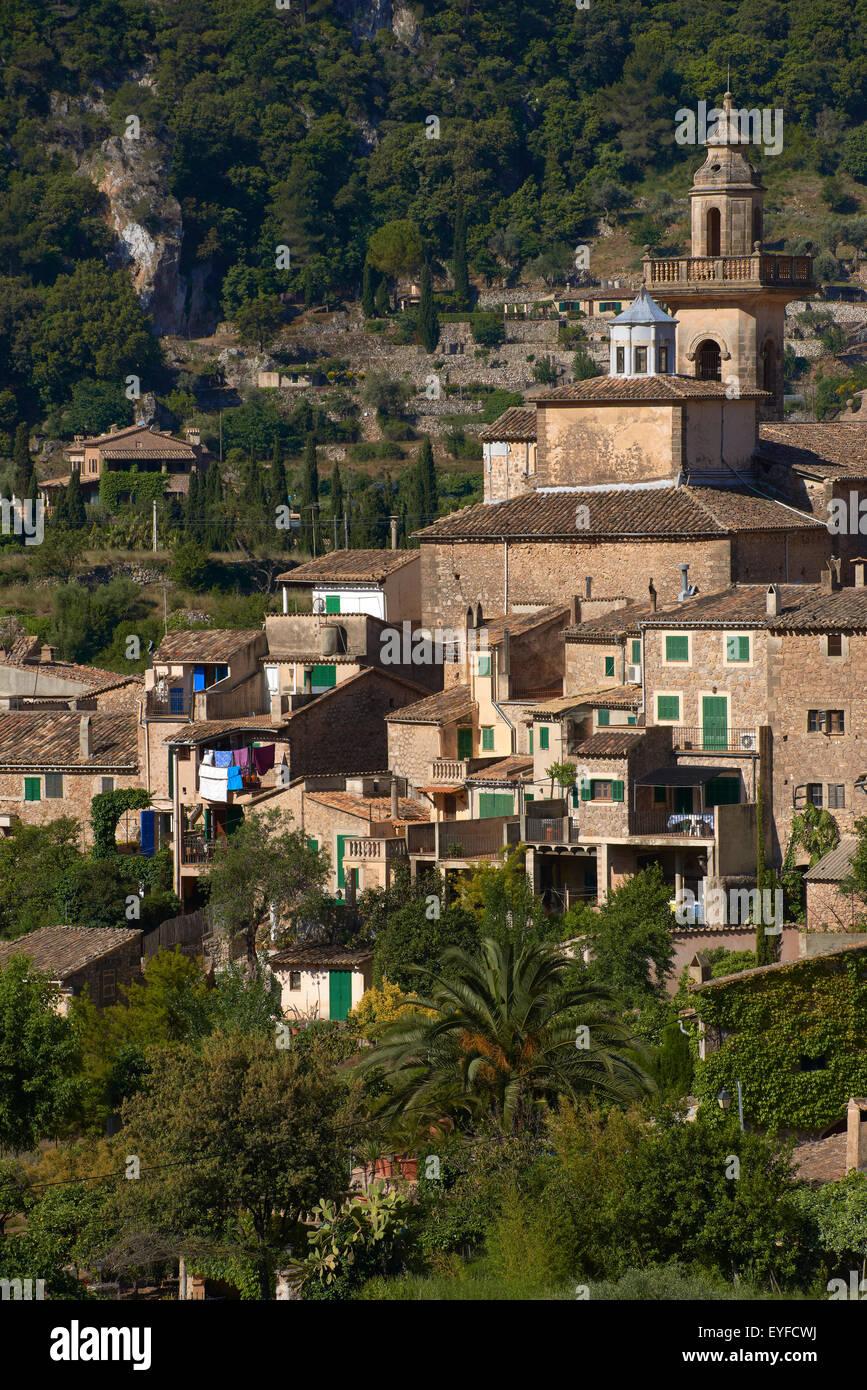 Mallorca, Valldemosa, Majorca, Serra de Tramuntana, World Heritage Site, Balearic Islands, Spain Stock Photo