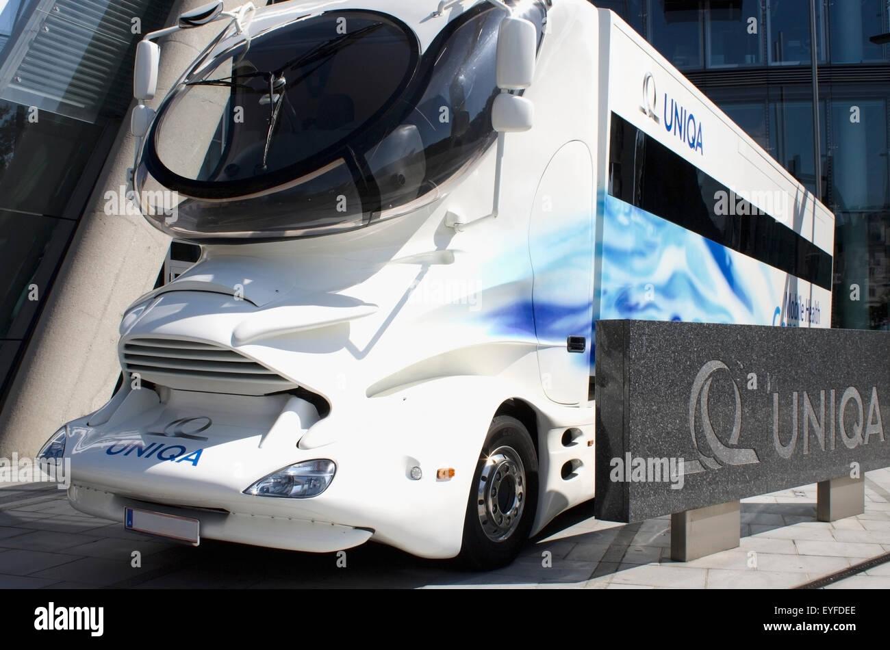 Austria, Mobile health bus