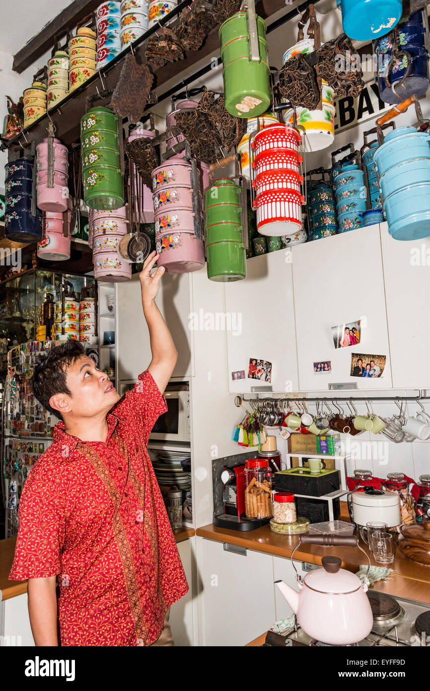 The Intan, a private museum owned and run by Alvin Yapp who realized his Peranakan/Chinese heritage was being lost. - Stock Image