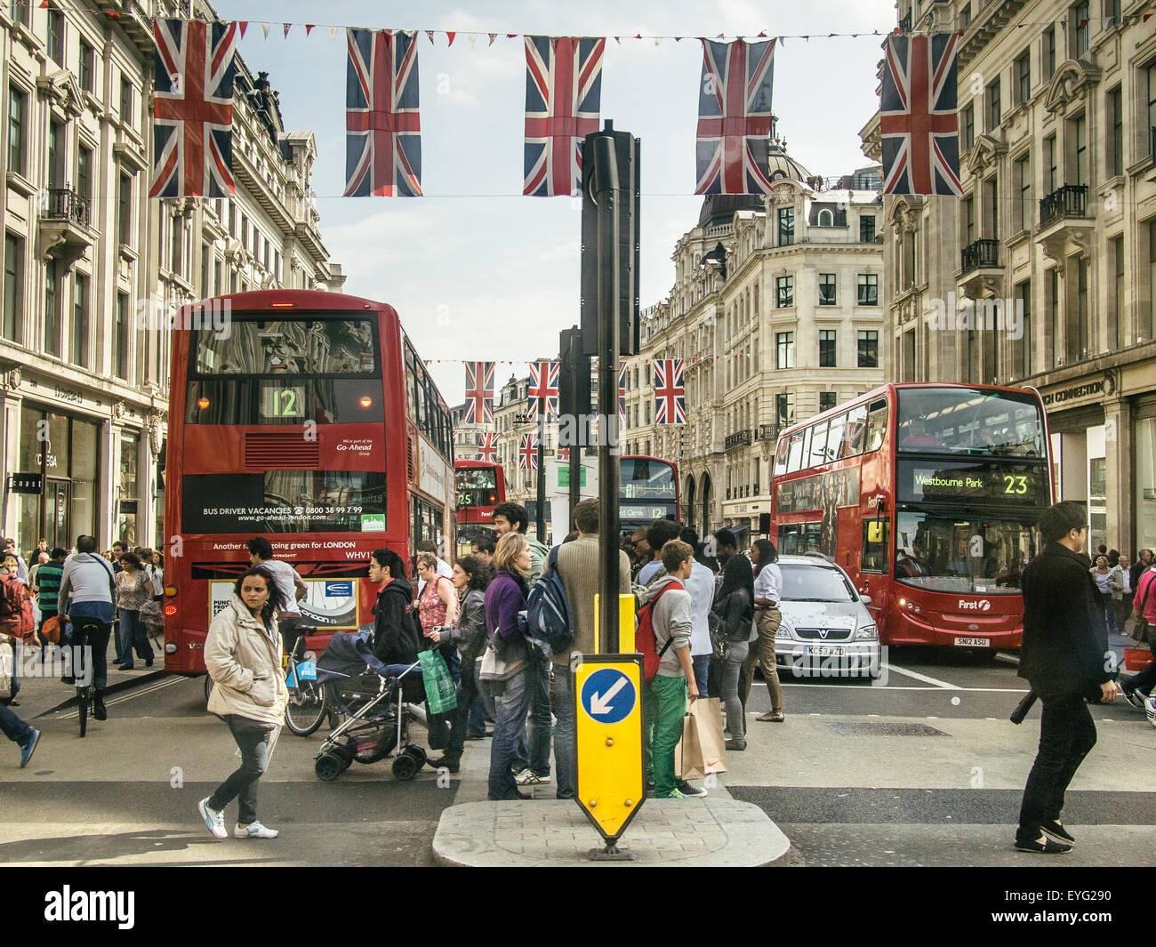 Oxford Street, London - Stock Image